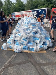 COH Water Distribution in Woodbridge, VA - XcelMil In The Community