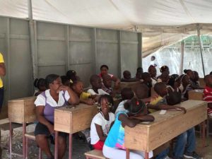 Mission to Haiti Teaching English as a Second Language - Haitian Creole to English - XcelMil in the Community