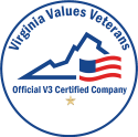 The Virginia Values Veterans (V3) Program is an official Commonwealth of Virginia Department of Veterans Services Program (c) 2014